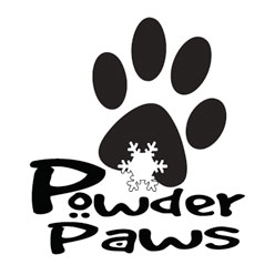 Powder Paws logo - HLF Images