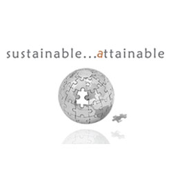 sustainable attainable logo - HLF Images