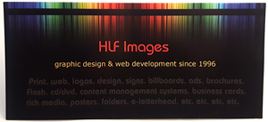 HLF Images graphic and web design studio