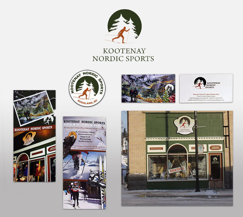 HLF Images graphic design and web design studio in Rossland BC
